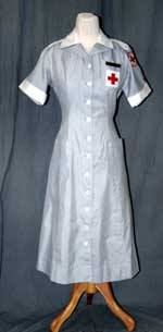 Red Cross Gray Ladies uniform, ca. 1960